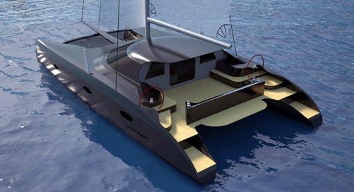 Sailing Catamaran Plans barnwood furniture DIY PDF Plans | alehouseable